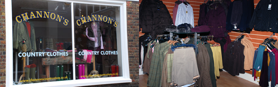 Channon's Country Clothes in Rye