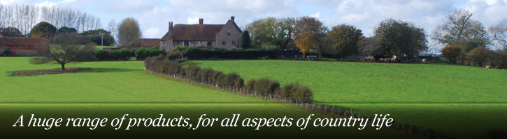 A huge range of products, for all aspects of country life
