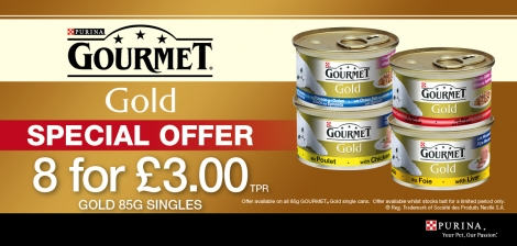 Gourmet Gold 8 for £3