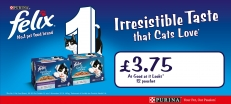 Felix AGAIL 12pk  only £3.75